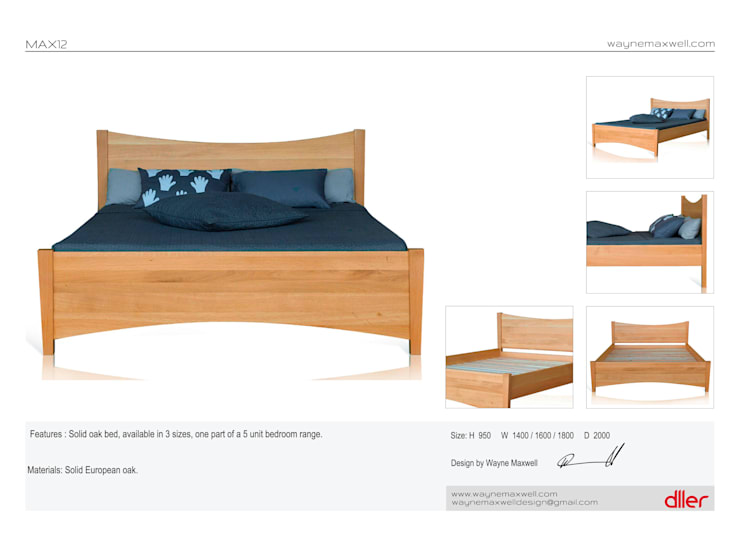 Dller :  Bedroom by wayne maxwell