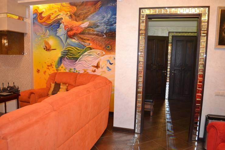 Интерьер: Гостиная в . Автор – Студия дизайна Натали Хованской