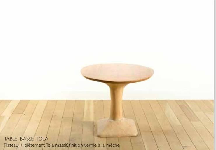 TABLE BASSE TOLA par Atelier Bees Minimaliste