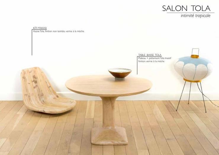 SALON TOLA intérieur métissé par Atelier Bees Minimaliste