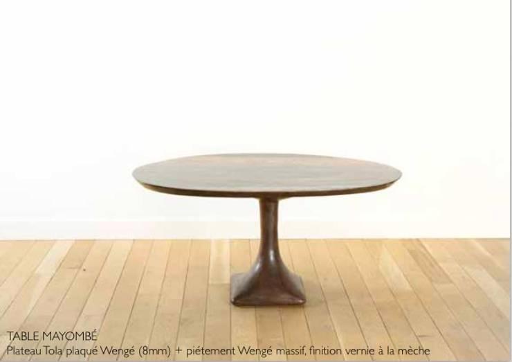 TABLE MAYOMBÉ:  de style colonial par Atelier Bees, Colonial