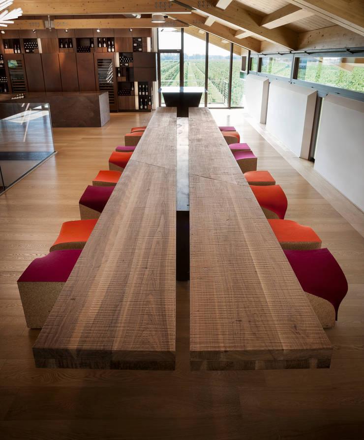 Wine Tasting Room:  Gastronomy by Alessandro Isola Ltd