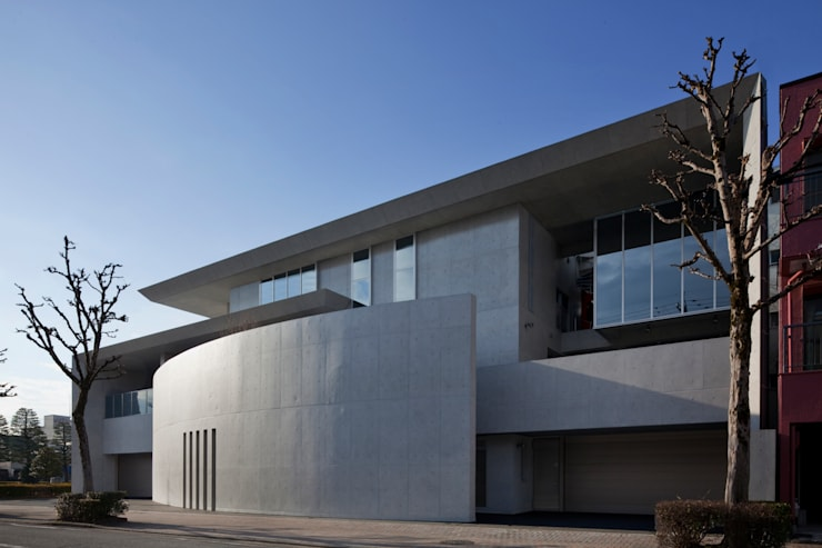 T-house: 秋山建築研究所が手掛けた家です。,地中海