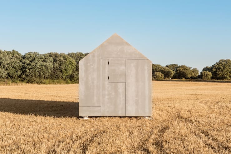 Prefab woning door ÁBATON Arquitectura