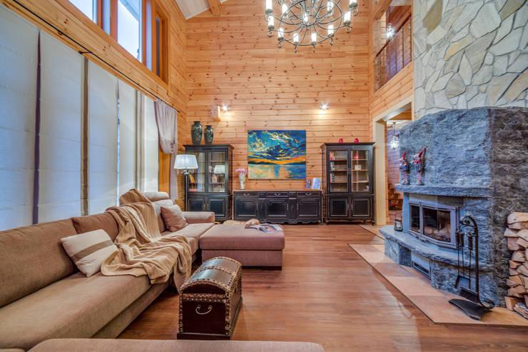 scandinavian Living room by Be In Art