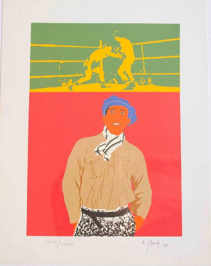 Homenaje a Justo Suárez: Arte de estilo  de NORTH SWEET