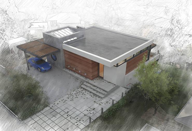 Современный дом с видом на Кремль. г.Казань: Дома в . Автор – премиум интериум