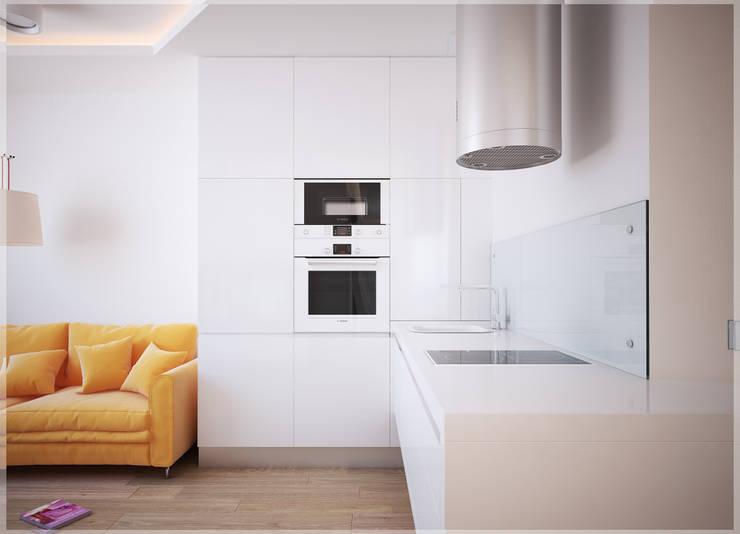 Разумный минимализм.: Кухни в . Автор – премиум интериум