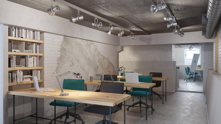 Икс-Три:  tarz Ofis Alanları