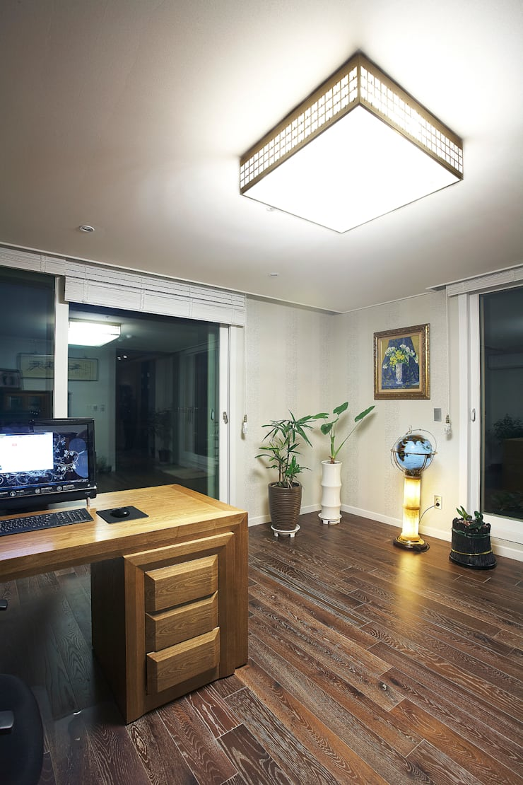 Living room by Hauan, Modern