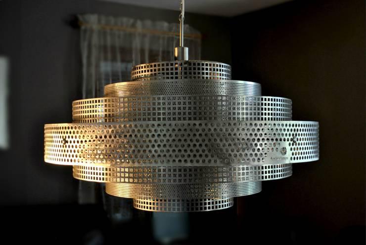 Shanghai: styl , w kategorii Centra handlowe zaprojektowany przez Archerlamps - Lighting & Furniture,