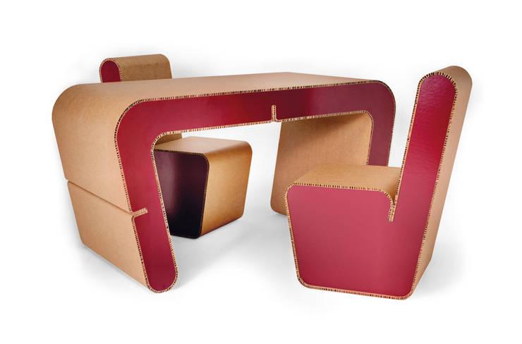 Estudio de estilo  de Origami Furniture