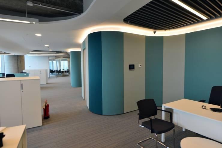 YAPIARTI MİMARLIK  – DENİZBANK GM:  tarz Ofis Alanları