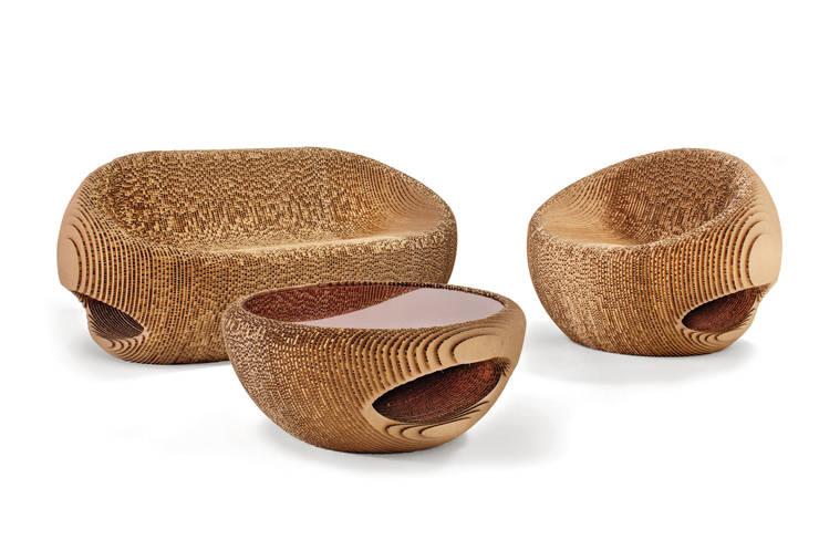 Projekty,  Zieleń wewnątrz zaprojektowane przez Origami Furniture
