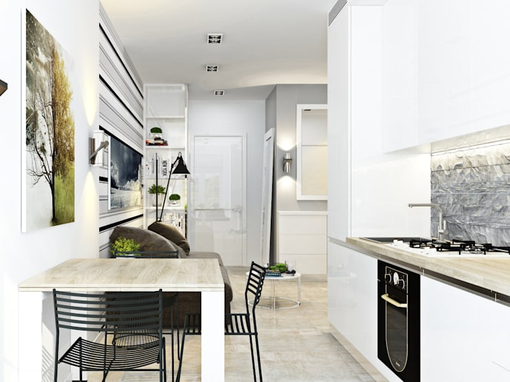 Квартира для Европейца: Кухни в . Автор – Сергей Харенко