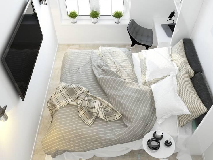 Квартира для Европейца: Спальни в . Автор – Сергей Харенко