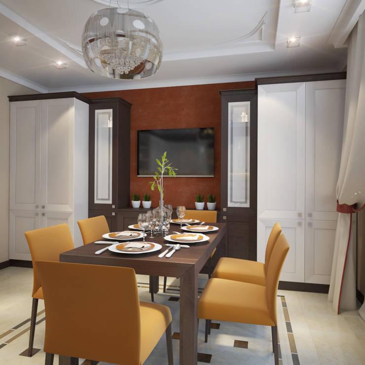 Eclectic style kitchen by Студия Дизайна Интерьера MALGRIM Eclectic