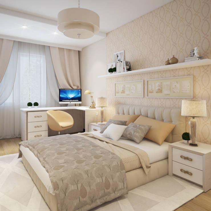 Bedroom by Студия Дизайна Интерьера MALGRIM