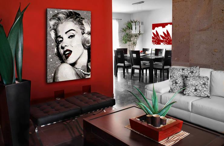 Tapisseries : Murs & Sols de style  par GK ART