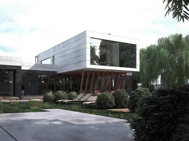 Дом-бетон: Дома в . Автор – Мастерская Grynevich Dmitriy
