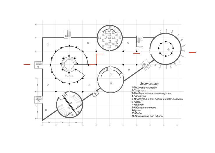 План второго этажа:  в . Автор – Садовникова Наталья Евгеньевна