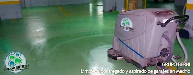 Limpiezas Berni - Servicios integrales: Edificios de oficinas de estilo  de Limpiezas Berni