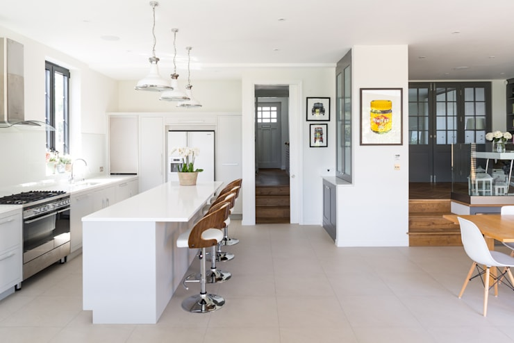 Broadgates Road SW18: modern Kitchen by BTL Property LTD