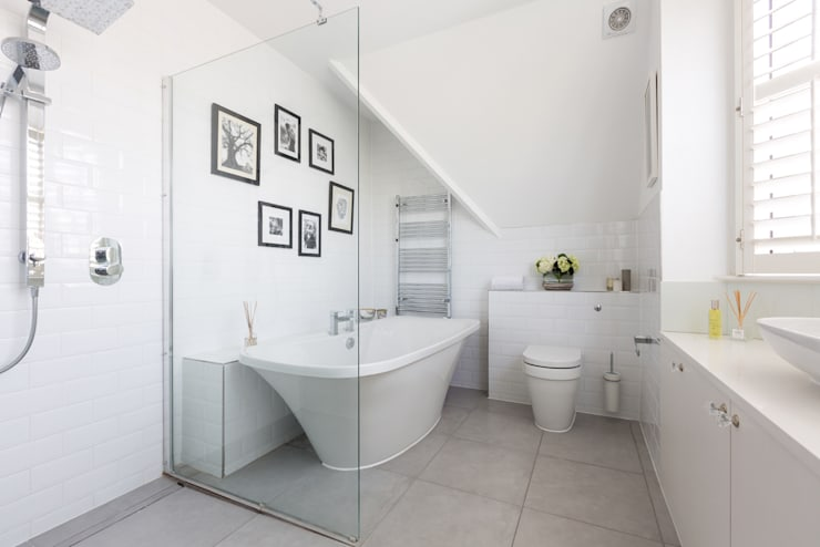 Broadgates Road SW18: minimalistic Bathroom by BTL Property LTD