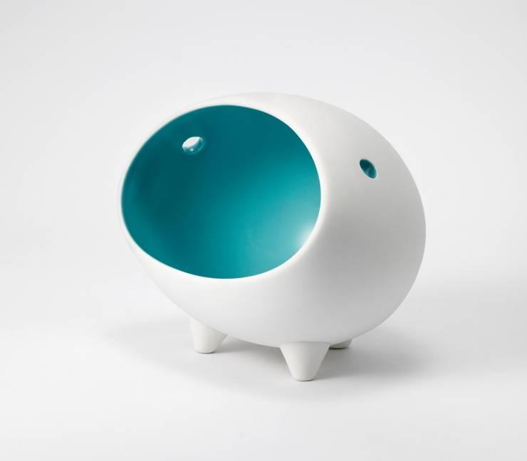 SoundDome _ Jade Blue: BUYRUS DESIGN의  가정 용품
