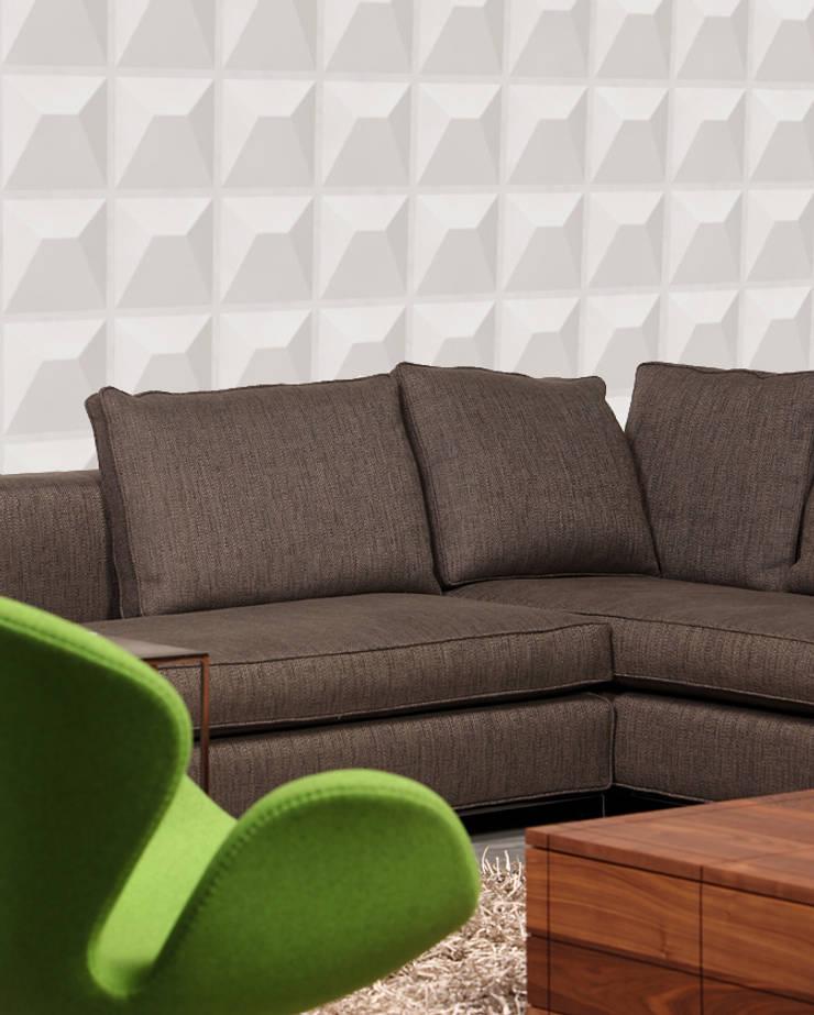 Panel de pared Ramps: Paredes y suelos de estilo  de Paneles de Pared