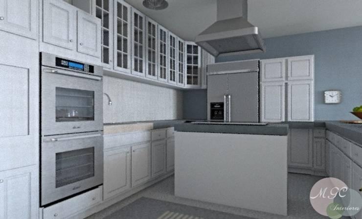 Casa en la playa: Cocinas de estilo  de MGC Diseño de Interiores
