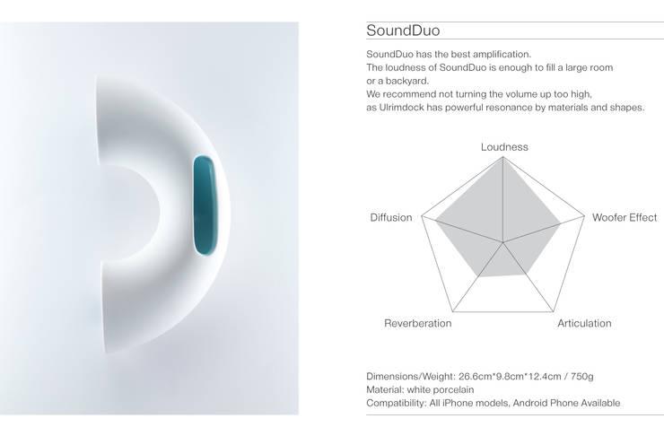 SoundDuo Spec: BUYRUS DESIGN의  가정 용품
