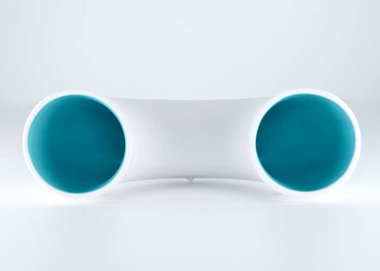 SounDuo _ Jade Blue: BUYRUS DESIGN의  가정 용품