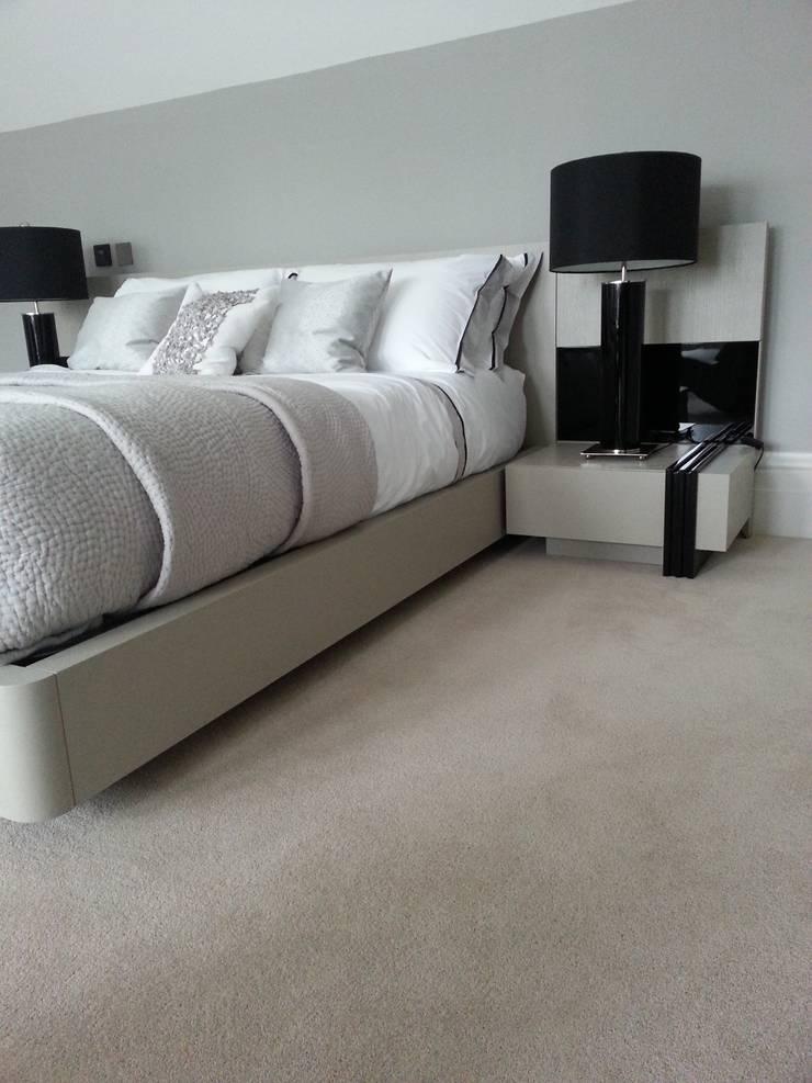 Luxurious Velvet Carpet:  Bedroom by The Prestige Flooring Company
