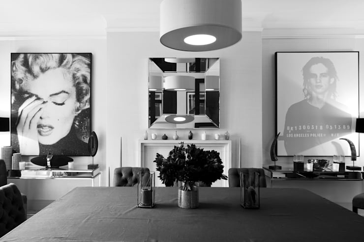Photography for C-Squared Interiors - Flat in Knightsbridge, London:  Living room by Adelina Iliev Photography