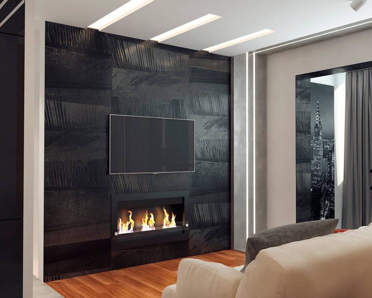 Salas de estar minimalistas por Мария Трифанова Minimalista
