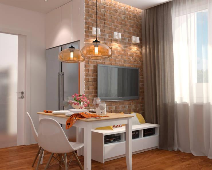 Nhà bếp phong cách Bắc Âu bởi Мария Трифанова Bắc Âu
