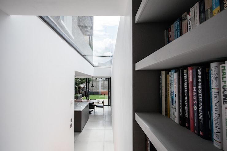 Photography for Trevor Brown Architect—House in North London:  Corridor & hallway by Adelina Iliev Photography