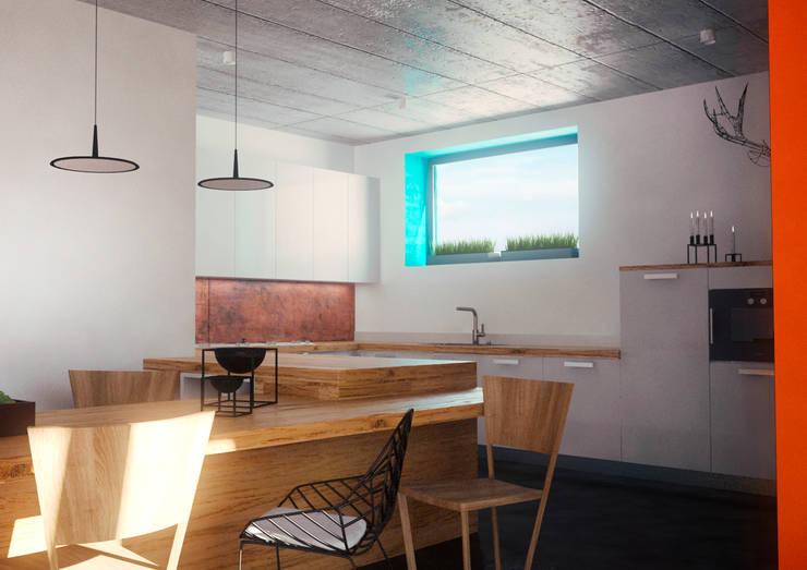 Minimal Apartment BR: Кухни в . Автор – Мастерская Grynevich Dmitriy
