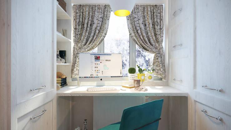 Chambre d'enfant de style  par Katerina Butenko
