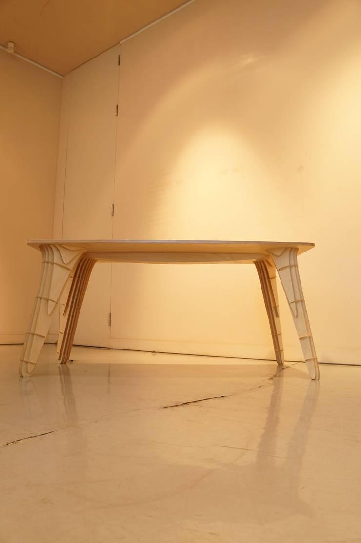 Table -MAK: 디웍스의  다이닝 룸,모던