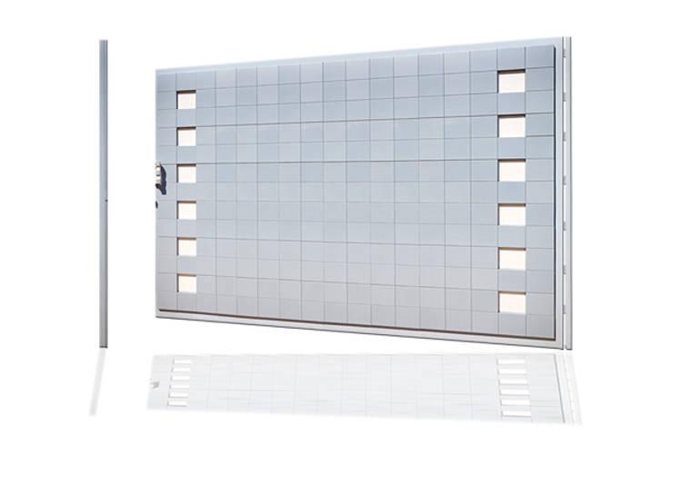 Puerta de garaje Batiente Pixéling®: Puertas y ventanas de estilo  de Puerta Bonita