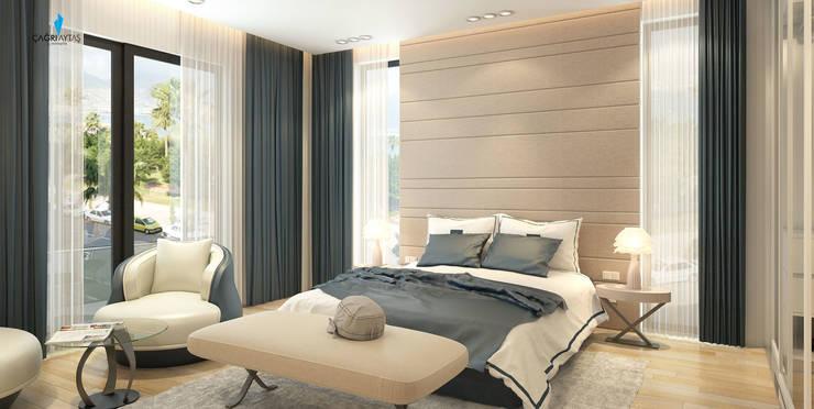 Çağrı Aytaş İç Mimarlık İnşaat – DE LIFE HOMES:  tarz Yatak Odası