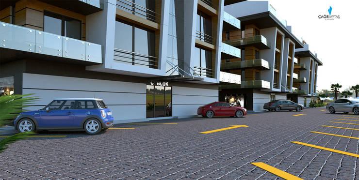 Çağrı Aytaş İç Mimarlık İnşaat – DE LIFE HOMES:  tarz Evler