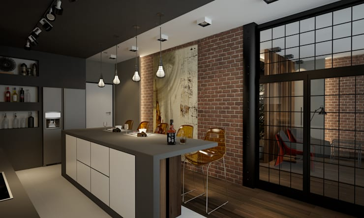 industrial Kitchen by Room Краснодар