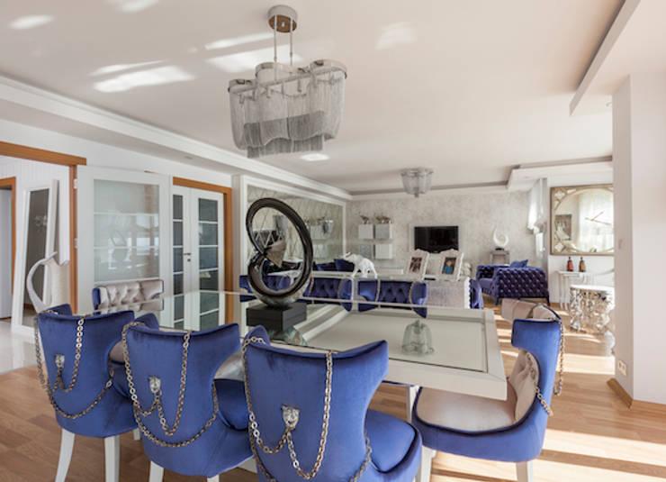 Livings de estilo moderno por Mimoza Mimarlık