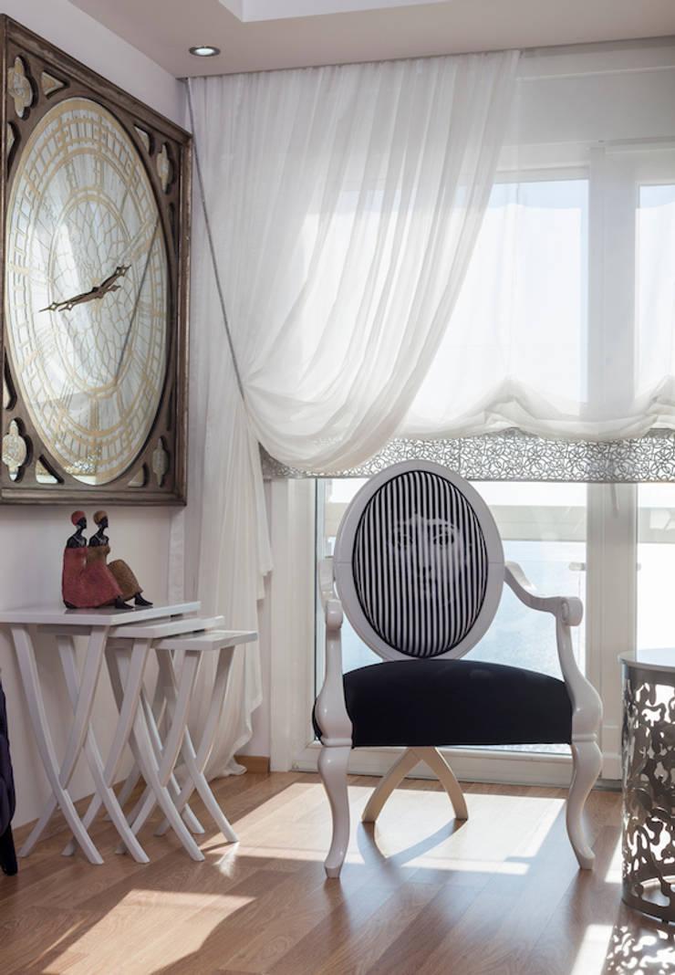 Mimoza Mimarlık – Phaselis Konutları Antalya:  tarz Oturma Odası