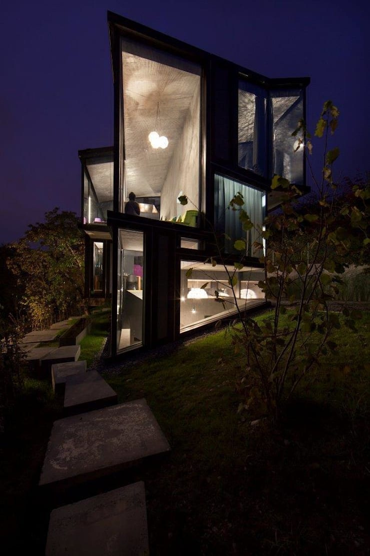 Houses by L3P Architekten ETH FH SIA AG, Modern