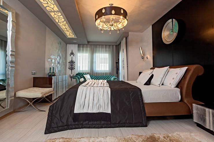 Slaapkamer Plafond Ideeen : 15 schitterende ideeën voor verlichting in de slaapkamer