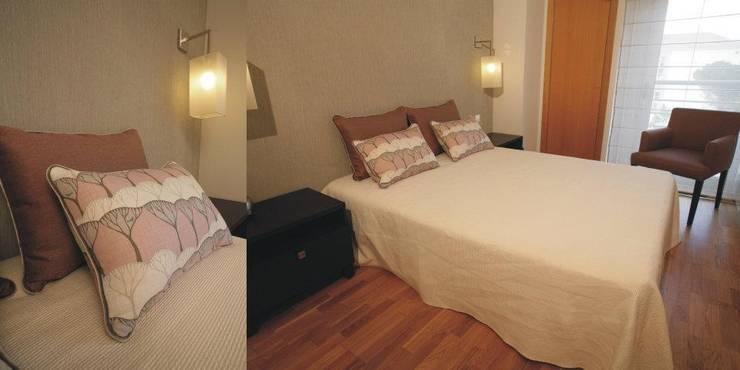 Suite : Quartos  por Traço Magenta - Design de Interiores